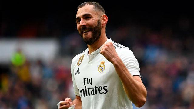 Benzema volvió a ser el mejor del Madrid. El francés marcó un hat-trick ante el Athletic