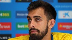 Borja Iglesias no está preocupado por marcar y está seguro que los goles llegarán.