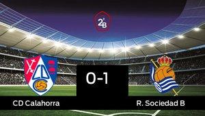 El Calahorra cae derrotado ante la Real Sociedad B por 0-1