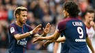 Cavani y Neymar aparcan la polémica