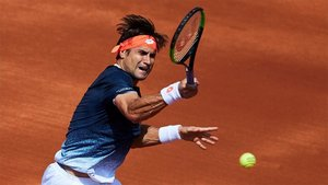 David Ferrer está jugando muy bien en Barcelona