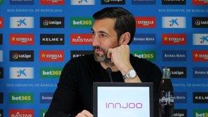 Diego López, un veterano con la ilusión de un juvenil en la meta del Espanyol