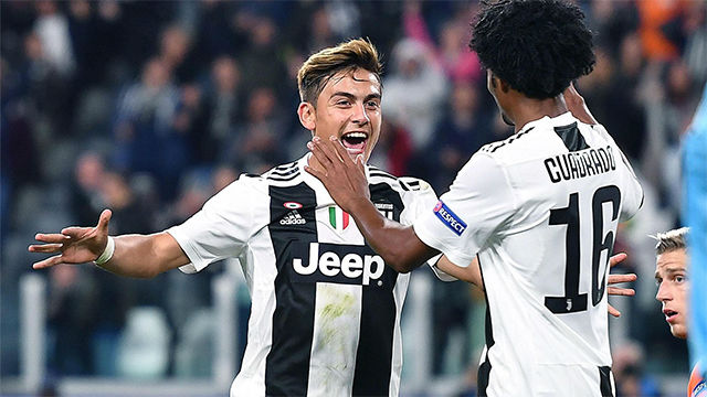 Dybala se vistió de Ronaldo y atropelló al Young Boys