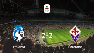 La Fiorentina saca un punto al Atalanta a domicilio (2-2)