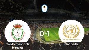 El Flat Earth se lleva el triunfo tras derrotar 0-1 al San Fernando de Henares