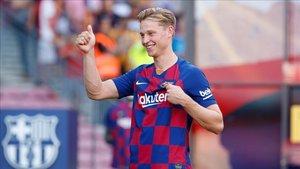 Frenkie de Jong tiene un alto conocimiento del FC Barcelona y su estilo de juego