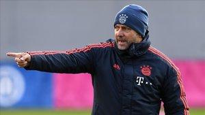 Hansi Flick es el actual entrenador del Bayern
