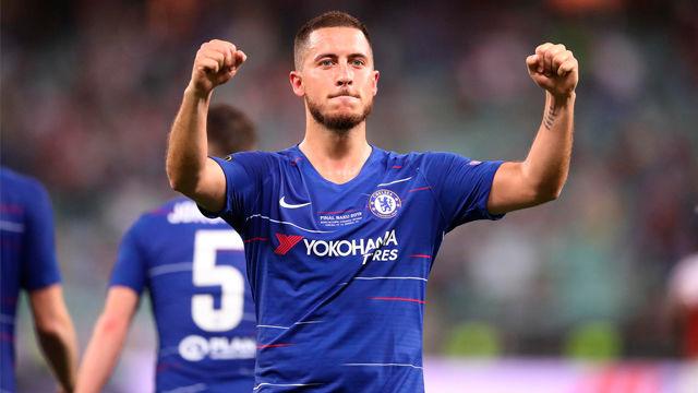 Hazard, elegido mejor jugador de la Europa League