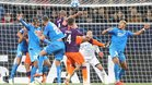 El Hoffenheim - Manchester City abrió la segunda jornada de Champions
