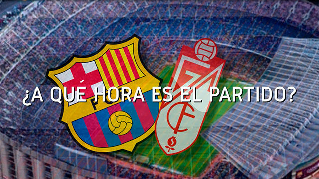Horario mundial del encuentro entre el FC Barcelona y el Granada