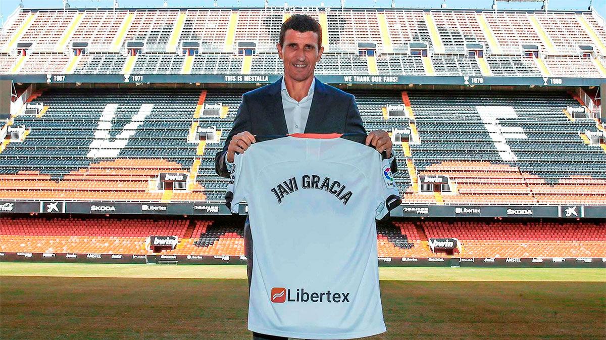 Javi Gracia: Estoy orgulloso de entrenar a un club como el Valencia