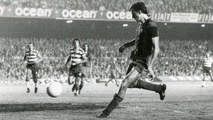 Johan Cruyff fue el primer jugador de los Países Bajos en jugar de forma oficial con el FC Barcelona