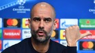 Josep Guardiola, entrenador del Manchester City