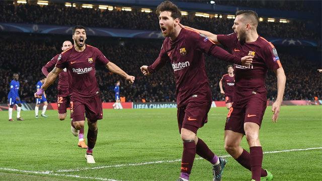 LACHAMPIONS   Chelsea - FC Barcelona (1-1): El gol de Messi