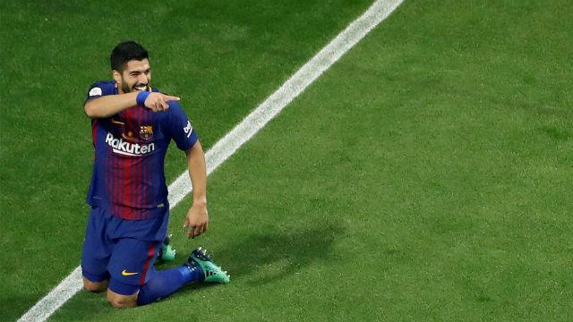 LACOPA | Sevilla - FC Barcelona (0-5): Suárez abrió el marcador a las primeras de cambio