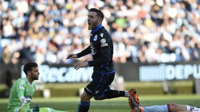 LALIGA | Celta - Deportivo (1-1): Lucas Pérez empató el derbi en el descuento