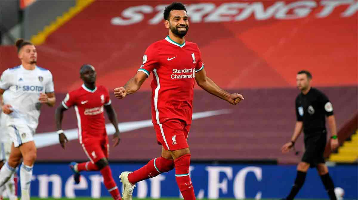 Las estadísticas de Salah en el inicio de la Premier