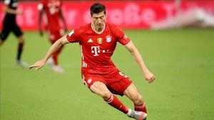 Lewandowski, estrella del Bayern