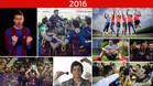Los éxitos del FC Barcelona en 2016