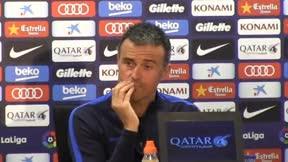 Luis Enrique en la previa del Osasuna - FC Barcelona