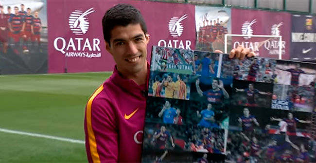 Luis Suárez repasa sus mejores goles de la temporada