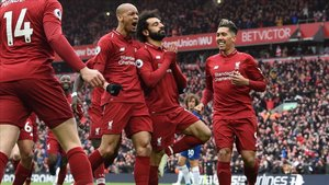 Mané y Salah firmaron los goles del Liverpool ante el Chelsea (2-0)