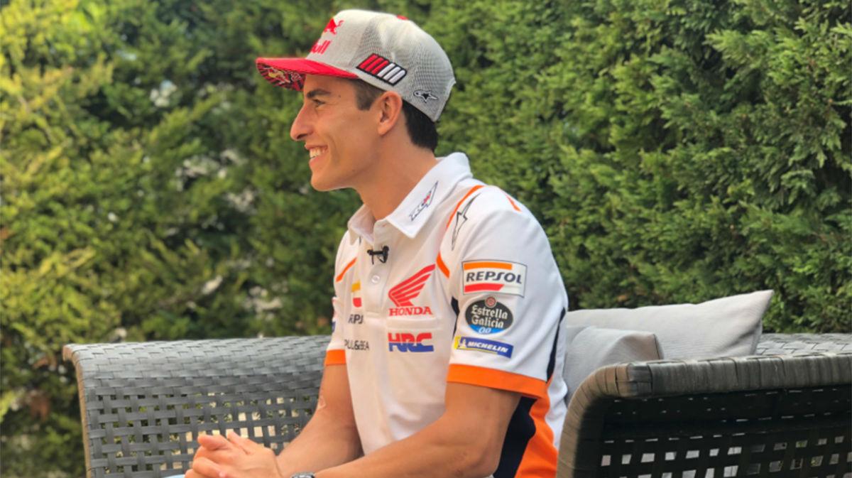 Marc Márquez: ¿Lo que peor llevo es un fin de semana de Gran Premio, es cuando me salen las ganas y el ansia de volver