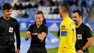Marta Huerta pitará la final de la Supercopa de España femenina