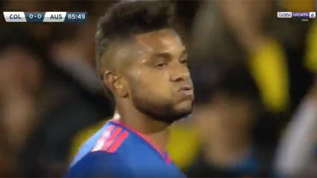Miguel Borja falló el gol de la victoria