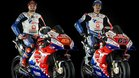 Miller y Bagnaia, con las nuevas motos del Pramac