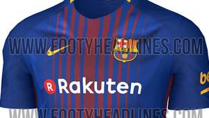 La nueva camiseta del Barça para la temporada 2017 18 diseñada por Nike 5c325fd302d