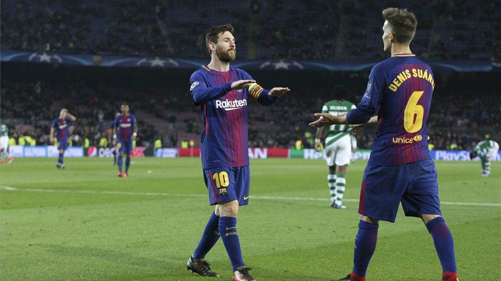 El once del FC Barcelona contra el Villarreal