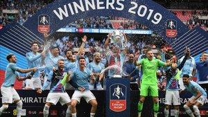 La plantilla del Manchester City sigue de dulce esta temporada