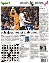 Portada de The Times Sport del 22 de abril