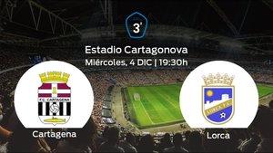 Previa del encuentro: el Cartagena B recibe al Lorca en la cuarta jornada