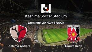 Previa del partido de la jornada 30: Kashima Antlers - Urawa Reds