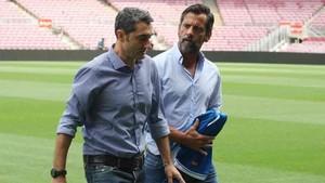 Quique tiene una buena relación con Valverde