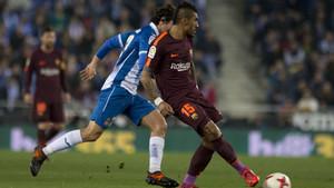 RCD Espanyol, 1 - FC Barcelona, 0 (Copa del Rey cuartos ida)