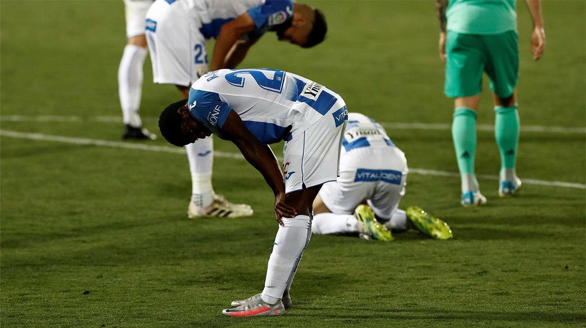 El Real Madrid manda al Leganés a Segunda