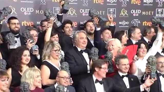 El Reino y Campeones, grandes triunfadoras de los Goya 2019