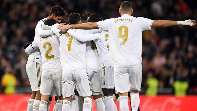 Remontada y goleada del Real Madrid a la Real Sociedad