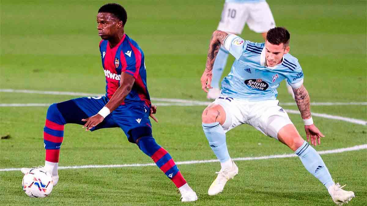 El resumen del polémico empate entre Levante y Celta