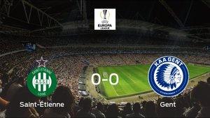 El Saint-Étienne empata ante el Gent (0-0)