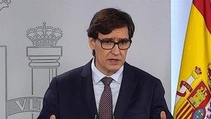 Salvador Illa echa la bronca a un diputado del Partido Popular
