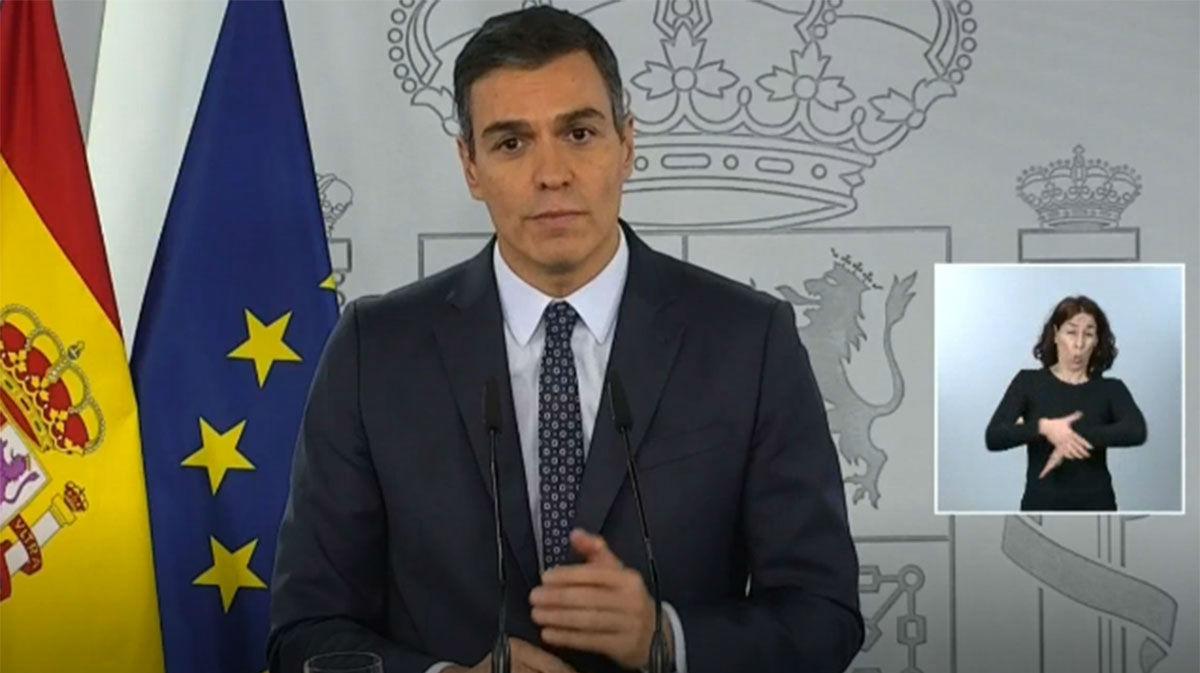 Sánchez declara el estado de alarma hasta mayo y apela al máximo apoyo político