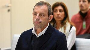 Sandro Rosell queda en libertad tras 21 meses de prisión preventiva