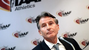 Sebastian Coe, presidente de World Athletics (WA)