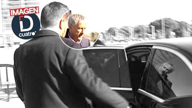 Setién, cazado en el hotel del Manchester City en Madrid y en palco del Bernabéu