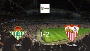 Sevilla earned hard-fought win over Real Betis 1-2 at Benito Villamarin