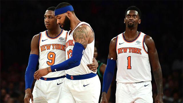 El triple de Morris que dio la victoria a los Knicks